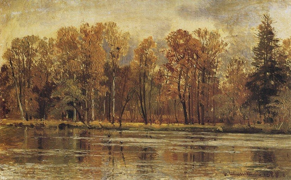 Ivan Shishkin - Golden autumn
