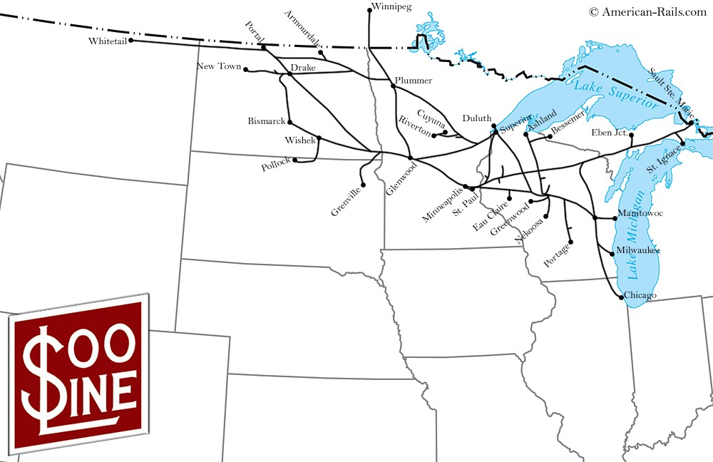 The Soo Line The Minneapolis St Paul And Sault Ste