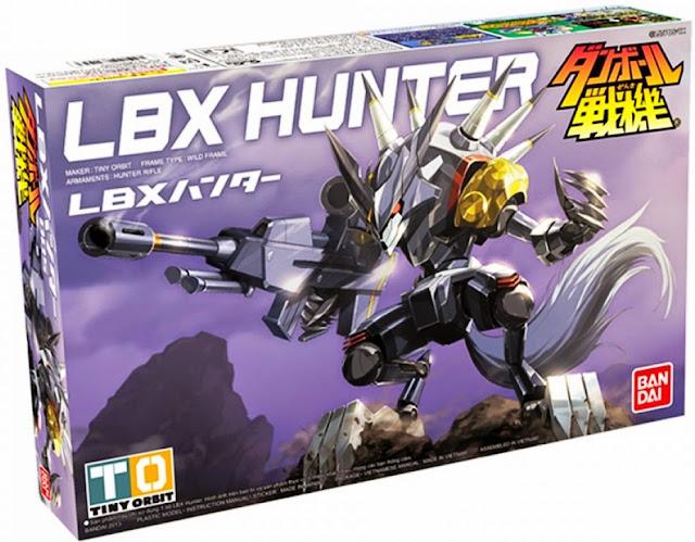 Đồ chơi Mô hình Đấu sĩ LBX 005 Hunter phù hợp với trẻ trên 8 tuổi