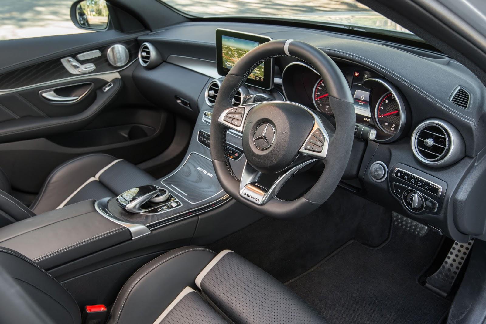Mercedes-AMG C63 S 2016 là một chiếc xe thông minh và cực an toàn