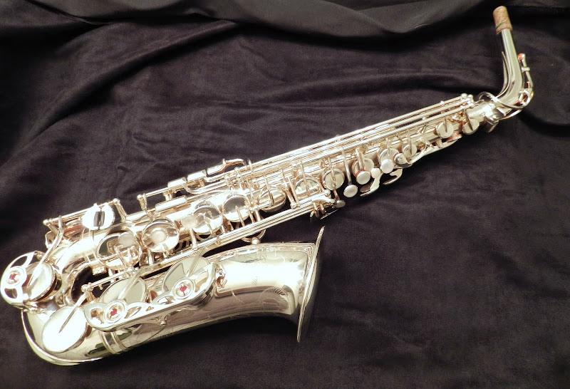 fs yamaha custom z alto sax yas 82z silver plated