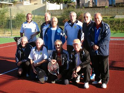 7 Novembre Les 2 équipes le TC2M et Lignan