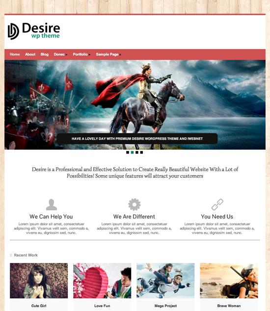 Desire theme