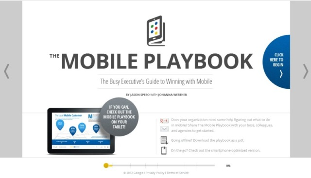 Google publica un libro interactivo sobre Marketing Mobile