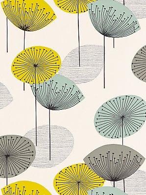Tessie 39 s blogg tapet - Sanderson dandelion clocks wallpaper ...