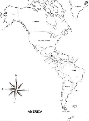 MAPAS PARA COLOREAR  MAPAS DE