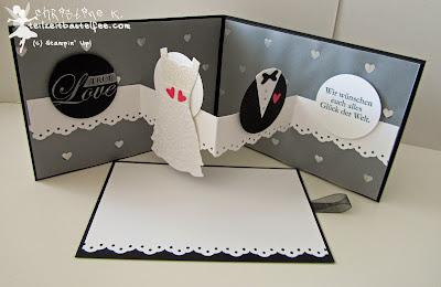 Eine Besondere Hochzeitskarte Mit Stampin Up Teilzeit Bastelfee