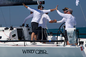 Rich Lehmann's Wind Czar- winners of J/111 North Americans
