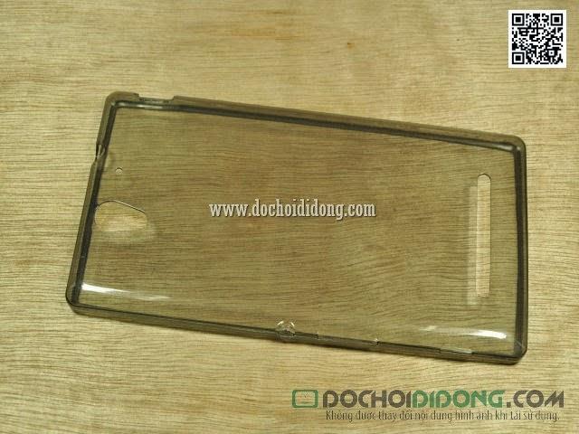 Ốp lưng Sony Xperia C3 siêu mỏng dẻo trong