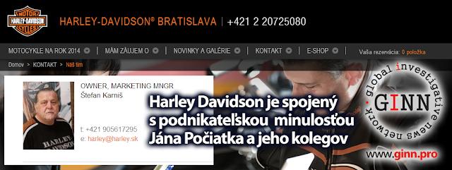 Harley Davidson Bratislava, HDB Bratislava, Ján Počiatek