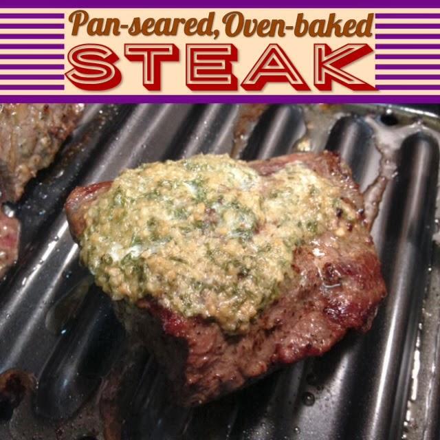 Emilycanbake Pan Seared Oven Baked Steak