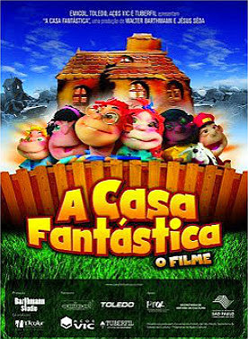 Filme Poster A Casa Fantástica – O Filme DVDRip XviD & RMVB Nacional