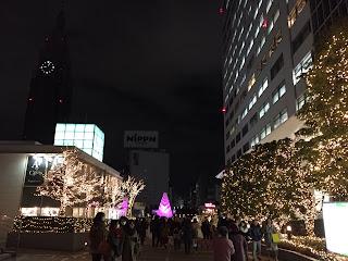 新宿のタイムズスクエアから代々木方面を撮影