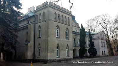 na zdjęciu pałac w Turwi, dawna posiadłość Chłapowskich