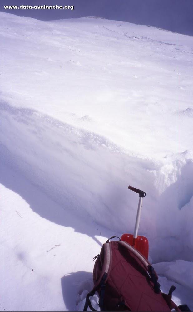 Avalanche Mont Thabor, secteur Punta Bagna, sous le teléski de roche I - Photo 1