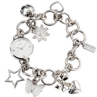 Coachbagzwonderland Coach Zoe Charm Bracelet Ladies Watch 14501053