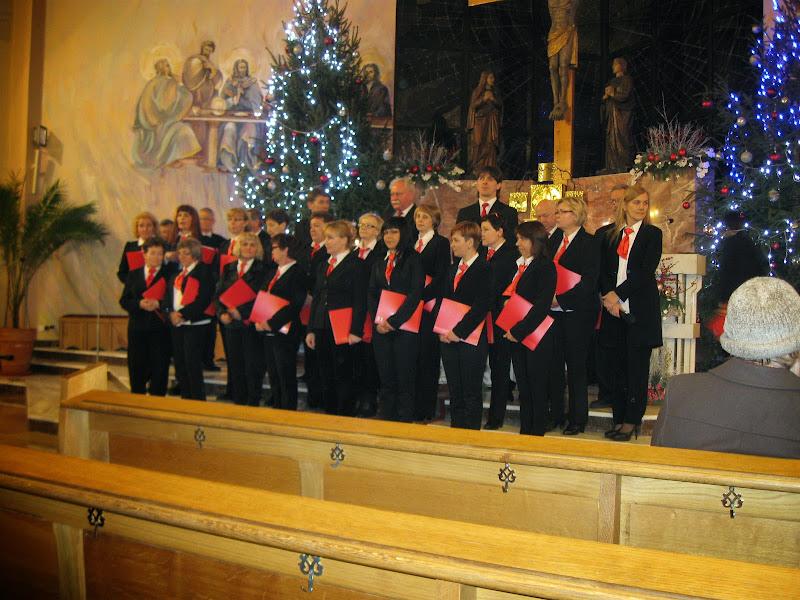 Koncert kolęd parafialnego chóru AVE