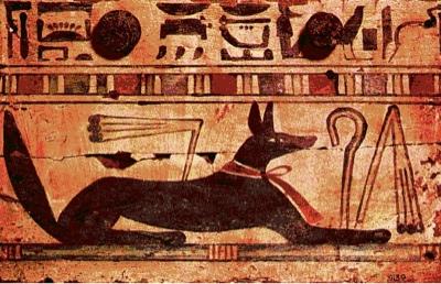 Anubis Dog Collar