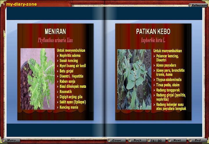 Tanaman Obat Herbal | Presentasi flash tanaman herbal | PPT to Flash | Presenstasi dengan file swf | Buku Jenis-jenis tanaman herbal | buahan-buahan sebagai obat