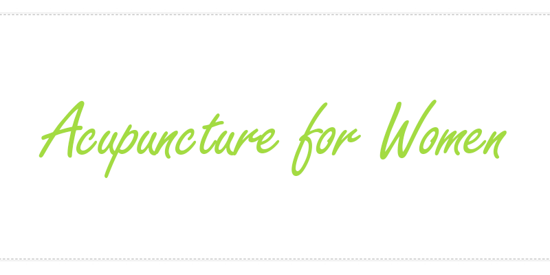 Acupuncturist Frisco Texas Acupuncture for Women Logo