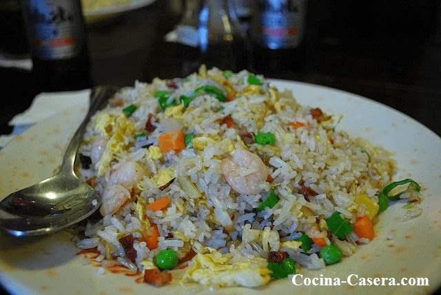 arroz frito tres delicias