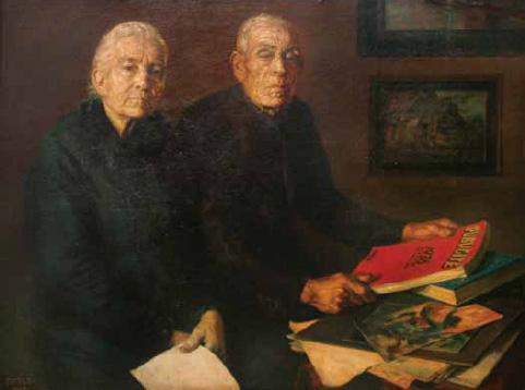 """""""Mis padres"""". José Peris Aragó"""