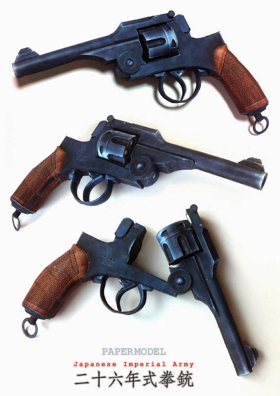 Type 26 Revolver Papercraft