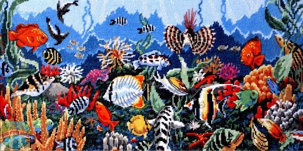 Underwater paradise pattern