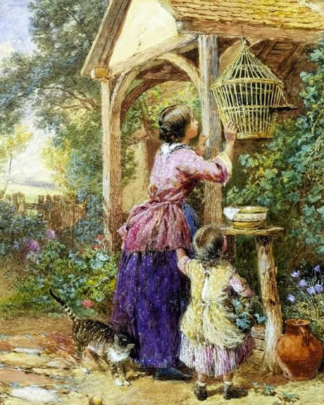 Myles Birket Foster - The Bird Cage
