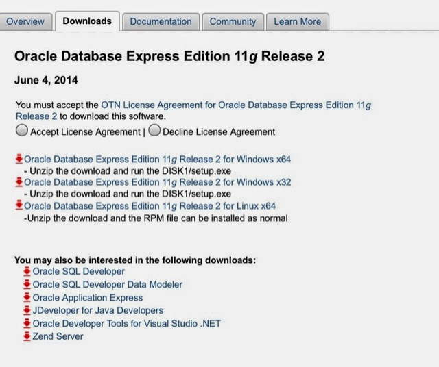 Donghua's Blog - DBAGlobe: Oracle 11gR2 express edition on