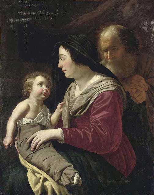 Jan van Bijlert - The Holy Family