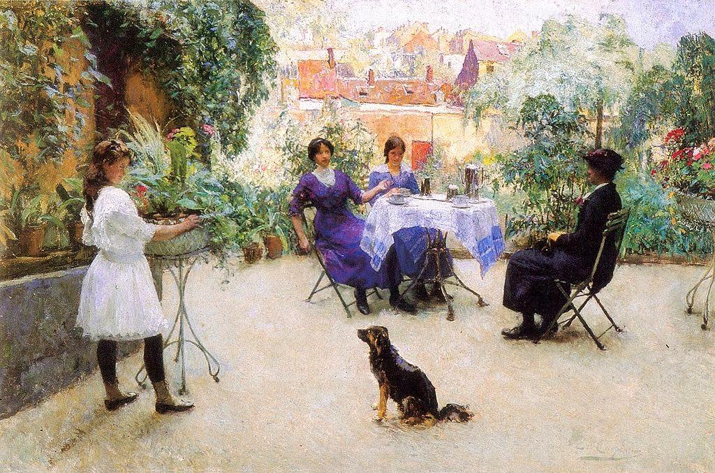 Evariste Carpentier - Le goûter des dames