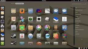 GNOME3 - Anwendungsstarter