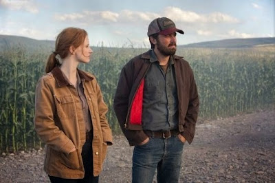 Farming scene in Interstellar with Jessica Chastain