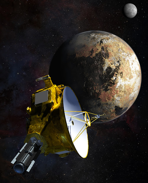 NASA's New Horizons spacecraft passes Pluto and Charon