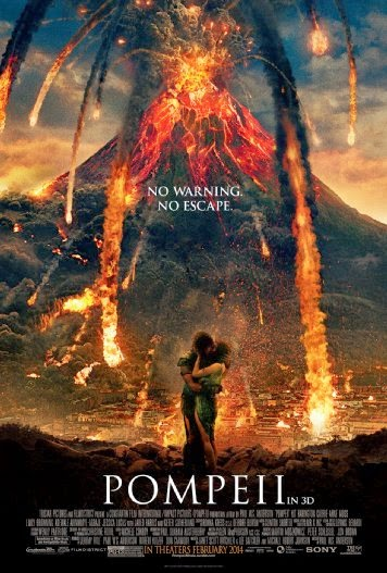 Poster Of Pompeii (2014) Full Movie Hindi Dubbed Free Download Watch Online At Alldownloads4u.Com
