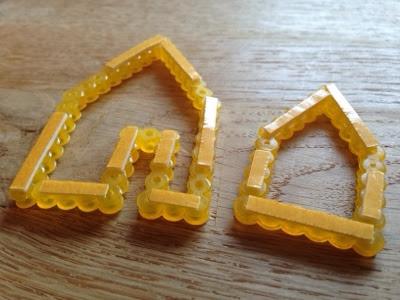 hama perler pynt huse
