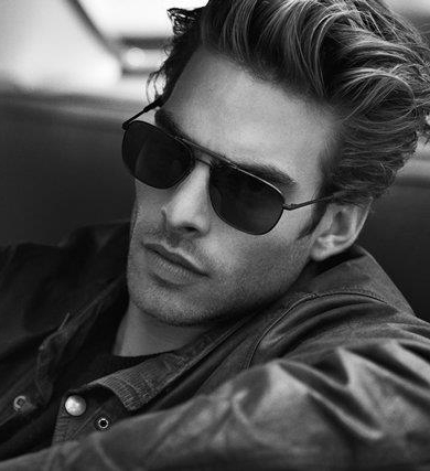 Jon Kortajarena by Peter Lindbergh for David Yurman Eyewear F/W 2011 (detail)