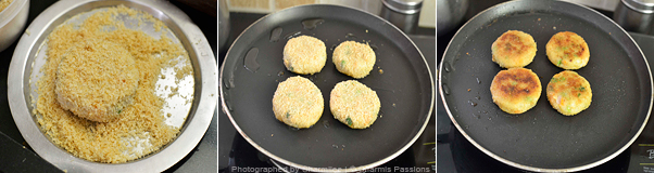 How to make vegetable cutlet - Step4