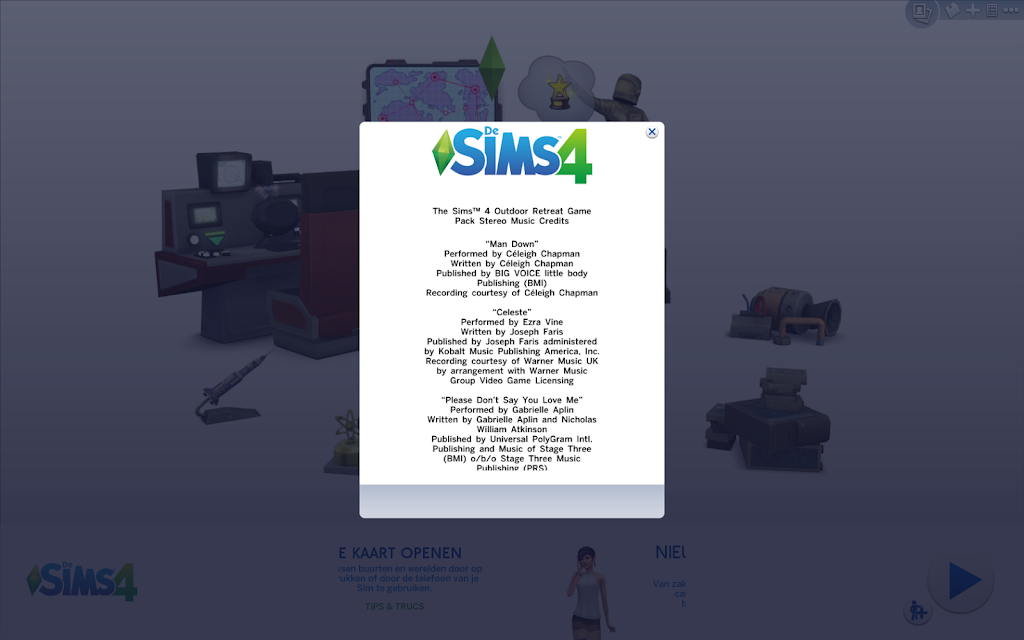 The Sims 4 Outdoor Retreat Game Pack music