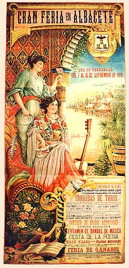 Cartel Feria Albacete 1915