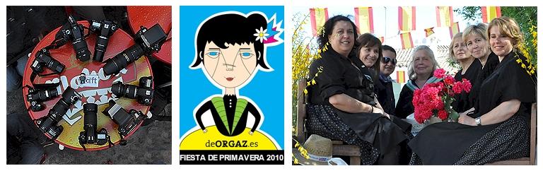 Fiesta de Primavera en Orgaz, con la Asociacion de Fotógrafos de Toledo