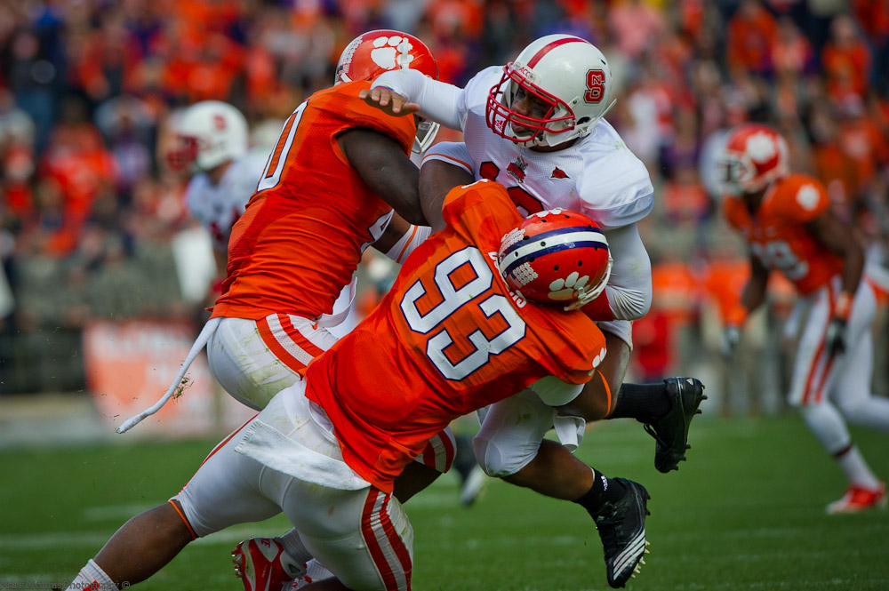 Clemson vs. NC State - McInnis Photos - 2010, Football, MarkMcInnisPhotography.com, NC State