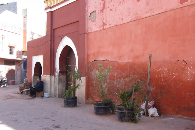 Entrance to hammam Bab Doukkala