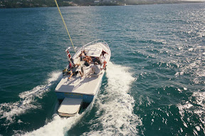 Parasailing in St. Thomas