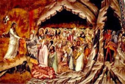 Resultado de imagem para jesus foi ao inferno