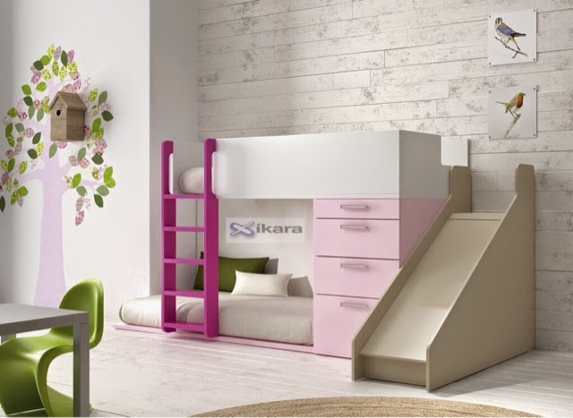 Dormitorios infantiles para ni as ni os de 0 1 2 3 4 y 5 a os - Camas dormitorios infantiles ...