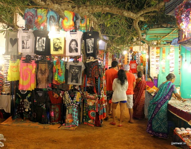 Saturday Flea Market of Goa