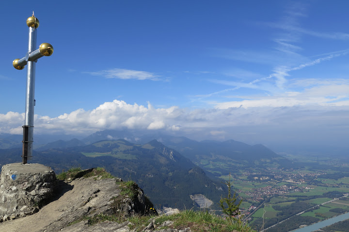 Das bayerische Gipfelkreuz