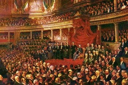 Il diario di ballabio il comune confonde 17 marzo e 4 for Il parlamento italiano